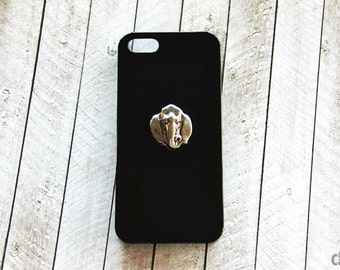 Animal iPhone 6 Cases Black iPhone 6 Plus Case Elephant Case iPhone 7 Plus Elephant Case Black Case for iPhone 7 Animal Cell Phone