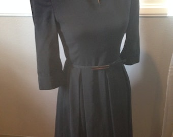 Vintage 50's Rockabilly Taking Care of Business Dress
