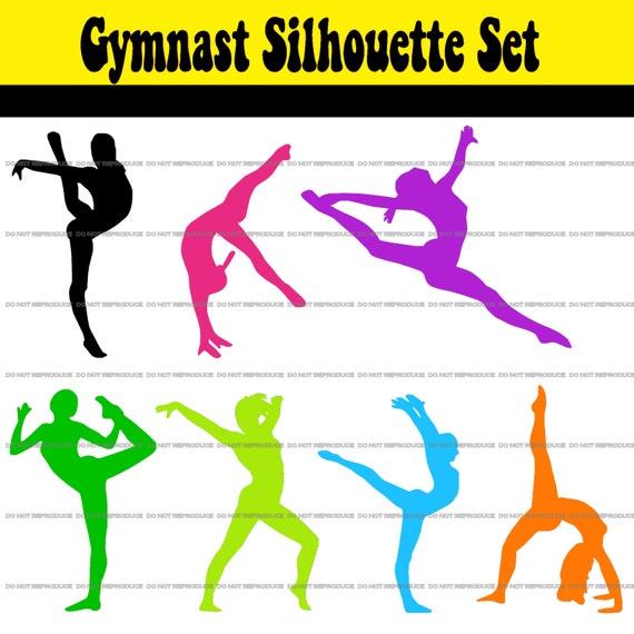 Items Similar To Gymnastics/Dance/Gymnast Clip Art