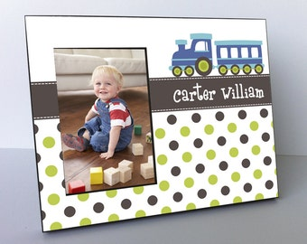 Personalized Boy Picture Frame, Child Gift, Personalized Boy Picture Frame