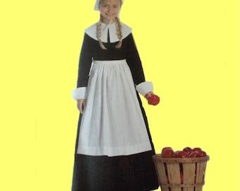 Thanksgiving Pilgrim Dress Costume Sizes3-14
