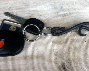 Mini Key Chain Bottle Opener Hand Forged Blacksmith