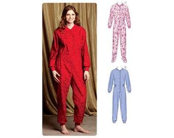 Kwik Sew Pattern. Pajama  Footed Pajama Pajamas   #K3712