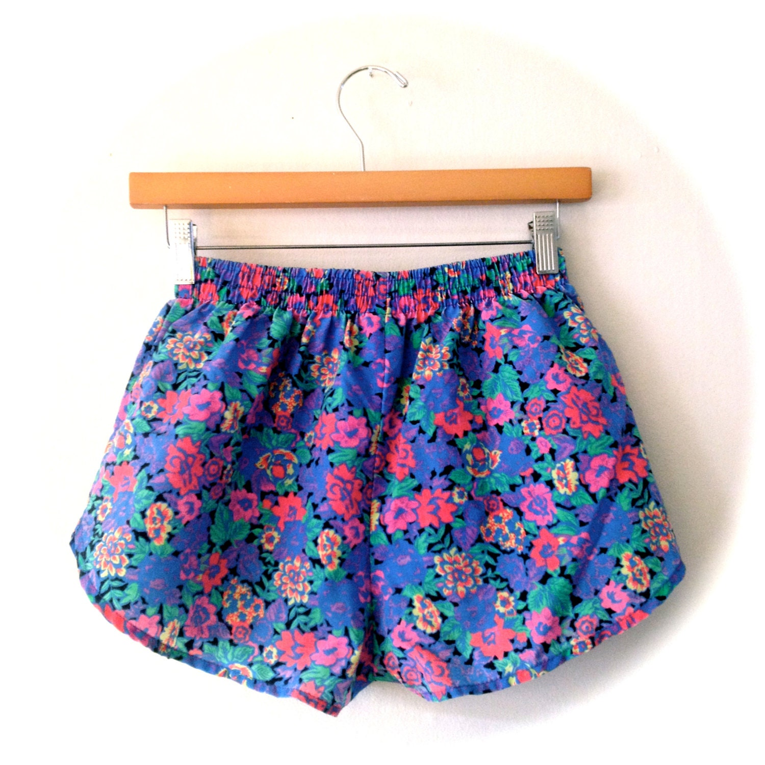 Walking Shorts The body of microfiber-polyester is the perfect performance fabric that also comes in colorful prints! These shorts are great for a marathon or your every day workout, with an incredibly comfortable fit and feel while running.