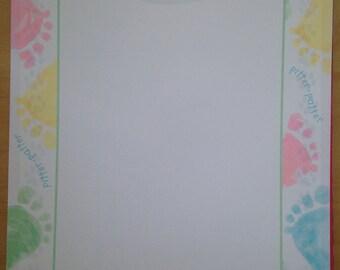8.5x11 Hallmark Pitter Patter Print Paper