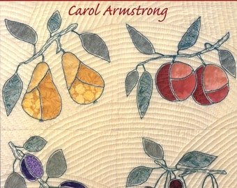 Applique Inside the Lines by Carol Armstrong | Quilting | Craft Book