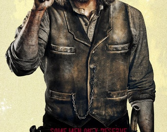 """Hell On Wheels Promotional Poster Print 24""""x36"""" - Free Shipping in U.S."""