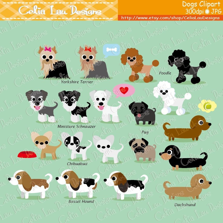 Dog Clipart Puppy Clipart cute dogs clip art puppy