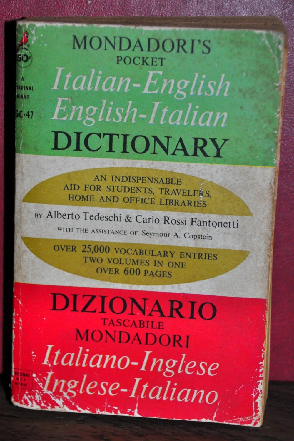 English In Italian: Italian English Dictionary. Mondadori's Pocket Book