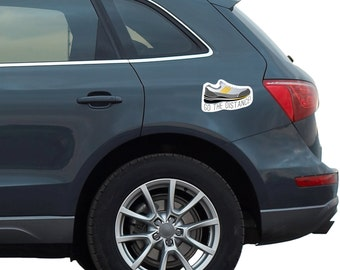 Go the Distance Runner Car Magnet