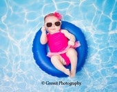 Water Photography Backdrop / Summer Pool / Water Ripple - Portrait Photo Shoots (FD6018)