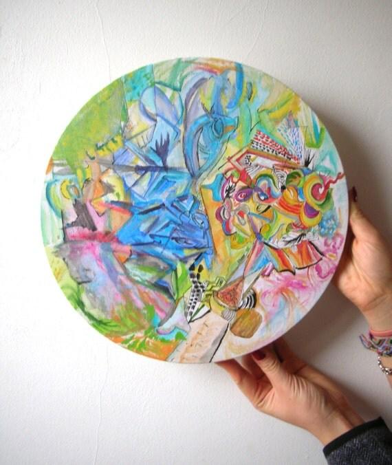 fr listing  peinture abstraite acrylique sur toile