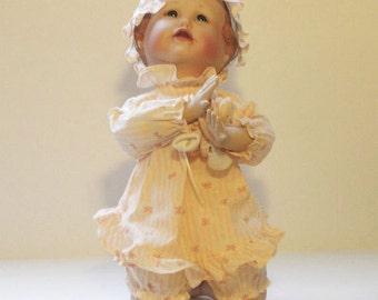 Porcelain Doll Emily Yolandas Picture-Perfect Babies Ashton Drake Collection Knowles China 76120