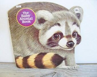 The Baby Animal Book - Animal Book - Little Golden Shape Book - Vintage Children's Book - Daphne Davis - Craig M Pineo - 1964 - No 5902