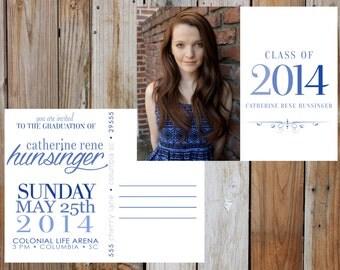 Graduation Postcard - Digital - Customizable