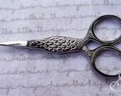 Embroidery Scissors: Silver Fish