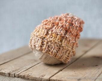 Slouchy Hat Newborn, Reversible Hat, Alpaca Hat, Photo Prop, Newborn Hat, Newborn, Newborn Knit, Alpaca Newborn, Hipster Hat, Baby Hat