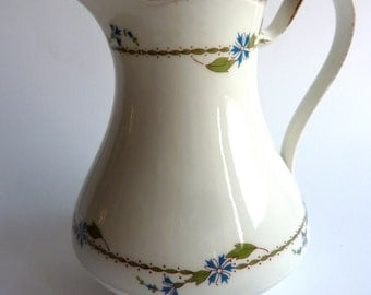 french vintage limoges porcelain jug