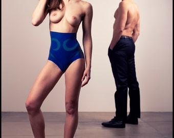 Ornella High Panties latex