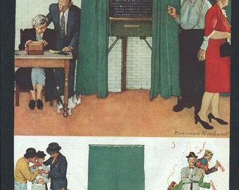 Norman Rockwell from Saturday Evening Post circa 1940s - 243