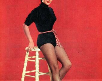 Elizabeth Taylor  Soldier Magazine  1955  British Military Magazine   Hollywood Gals  Elizabeth Taylor