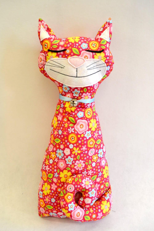 Cat doorstop sewing pattern - Cat clothing patterns free ...