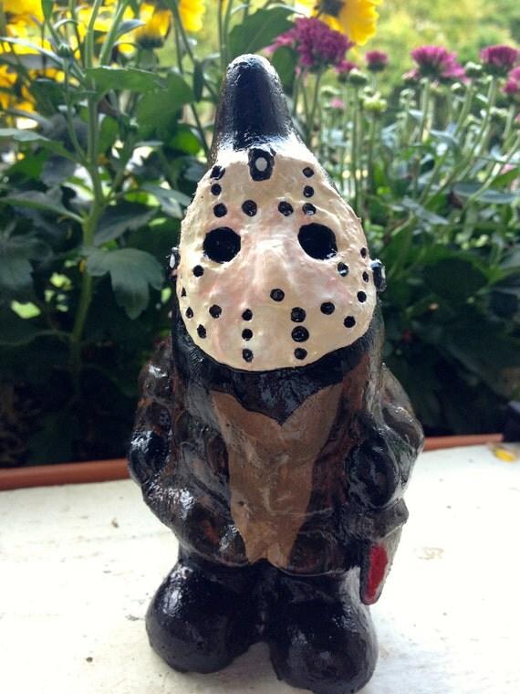 Gnome Parodie Jason Nain De Jardin Solide 5 5 Pouces 14cm