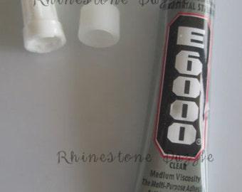 9ml E6000 Glue with screw on tip and screw on cap, E6000 Glue, Industrial Glue, Jewelry Glue, 9ml E6000 Glue, Adhesive, BEST GLUE