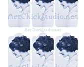 Lily Elsie Hang Tags Printable Digital Collage Sheet