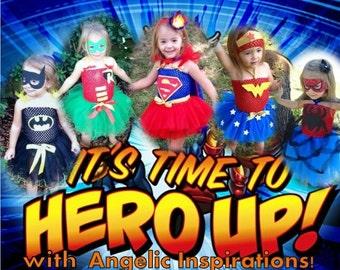 Super Hero Tutu Costume (Super Baby) Super Girl