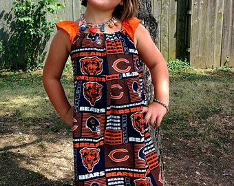 NFL Chicago Bears Girls Dress Size 6/9M -8