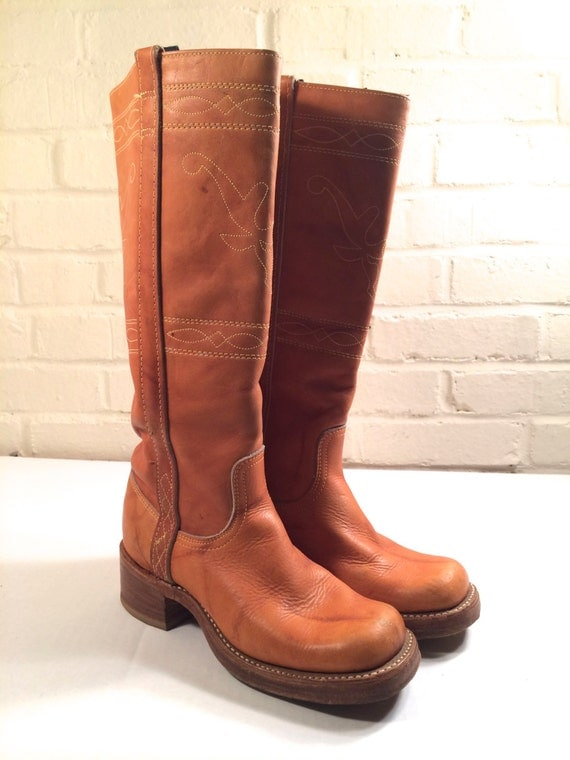 vintage cowboy boots western boots made in usa