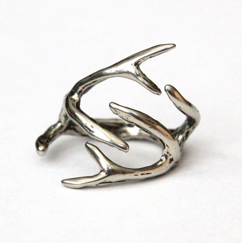 Rings Made Out Of Deer Antlers