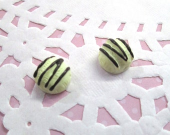 Vanilla Ice Cream Candy Kawaii Decoden Cabochons Kawaii Pastry Desserts, #243a