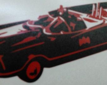 60's Batmobile decal