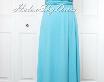 Convertible Infinity dress Bridesmaids Dress in Blue