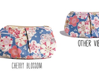 Pleated Clutch: The Blossom Series