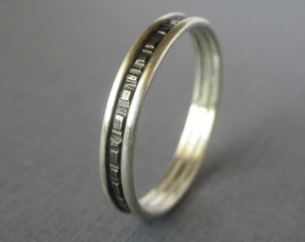 Simple Sterling Band - 4mm wide