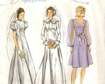 VOGUE 2688 Vogue Bridal Design circa 1972