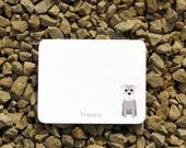 Schnauzer personalized stationery - Dog notes