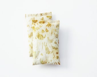 Scented Drawer Sachets, Golden Leopard Print, Organic Lavender Bags, Animal Decor