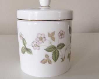 Wedgwood Wild Strawberry Lidded Pot