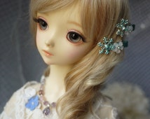 Snow Flower Hair Clips for BJD SD, MSD YoSD Dolls 12 Types Available