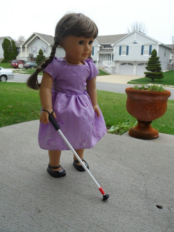 Blind Cane For American Girl 18 Doll Accessories For