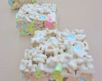 Lucky Charm Krispie Treats (8)
