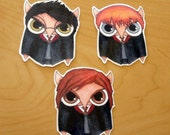 Harry Potter Owls Sticker Set