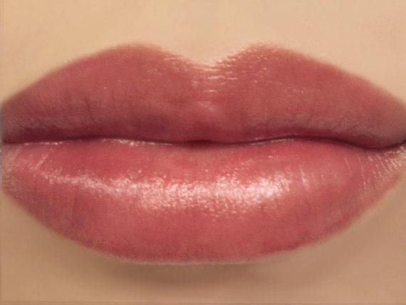 Vegan mineral lipstick nymph natural semi sheer for Natural rose colors