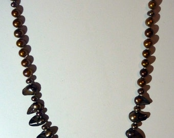 Dagger Pearl Necklace