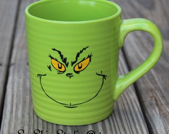 Grinch Coffee Mugs