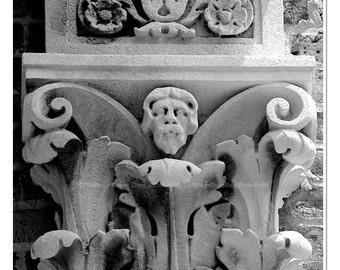 Acanthus Column Capital Photograph